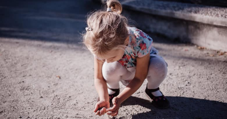 criança natureza
