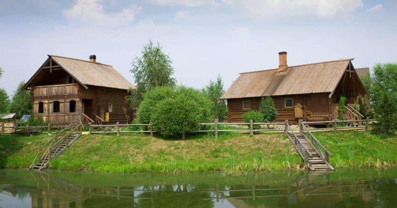 morar no campo - verao da paisagem rural
