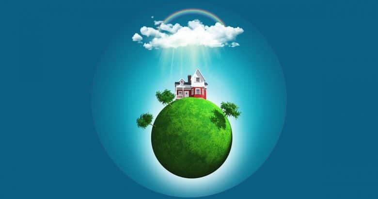 casa sustentável | Casa de campo